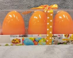 0003 Œuf bougie orange (par3)