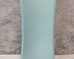 0009 Vase bleu carré