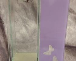 0011 Vase violet rectangle