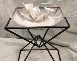 Article 0020 métal noir triangle