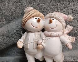 Article 0047 Bonhomme de neige/couple