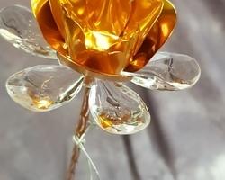 Article 0017 Fleur métallique