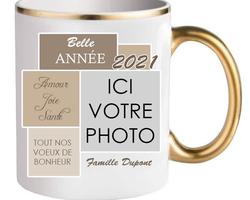 Tasse 0004 Anse dorée photo