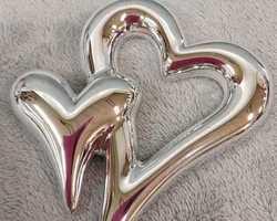 Article 0017 Cœur argenté